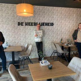 Mahjoub en Wouter bezoeken De Heerlijkheid in Leidschendam
